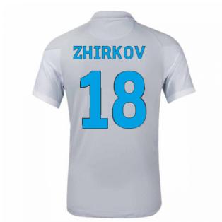 2020-2021 Zenit St Petersburg Away Shirt (ZHIRKOV 18)