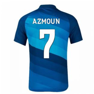 2020-2021 Zenit St Petersburg Home Nike Shirt (Kids) (AZMOUN 7)