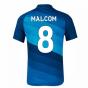 2020-2021 Zenit St Petersburg Home Nike Shirt (Kids) (MALCOM 8)