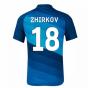 2020-2021 Zenit St Petersburg Home Nike Shirt (Kids) (ZHIRKOV 18)