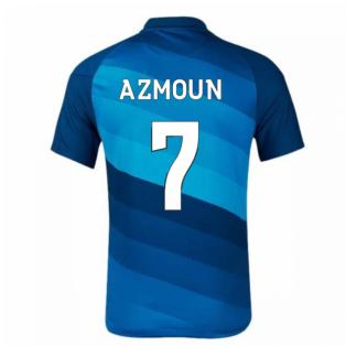 2020-2021 Zenit St Petersburg Home Shirt (AZMOUN 7)
