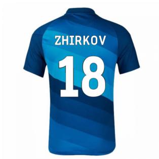 2020-2021 Zenit St Petersburg Home Shirt (ZHIRKOV 18)