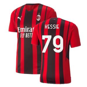 2021-2022 AC Milan Authentic Home Shirt (KESSIE 79)