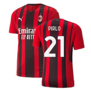 2021-2022 AC Milan Authentic Home Shirt (PIRLO 21)