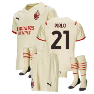 2021-2022 AC Milan Away Mini Kit (PIRLO 21)