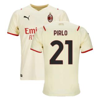 2021-2022 AC Milan Away Shirt (Kids) (PIRLO 21)