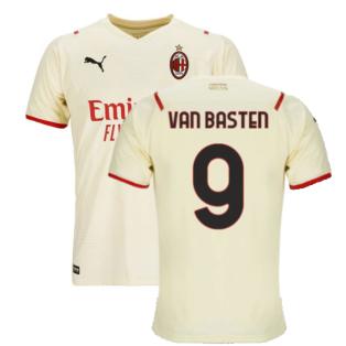 2021-2022 AC Milan Away Shirt (Kids) (VAN BASTEN 9)