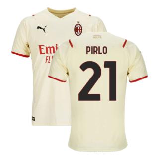 2021-2022 AC Milan Away Shirt (PIRLO 21)