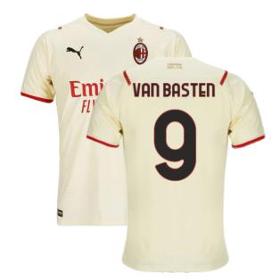 2021-2022 AC Milan Away Shirt (VAN BASTEN 9)