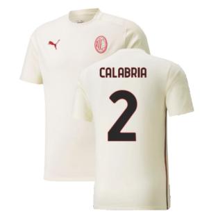 2021-2022 AC Milan Casuals Tee (Afterglow) (CALABRIA 2)