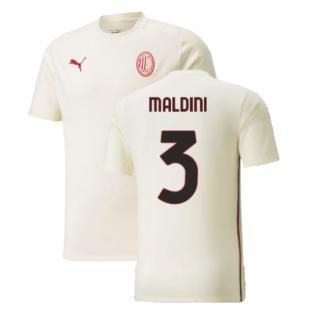 2021-2022 AC Milan Casuals Tee (Afterglow) (MALDINI 3)