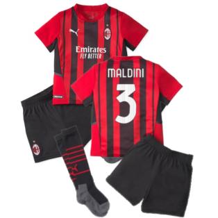2021-2022 AC Milan Home Mini Kit (MALDINI 3)