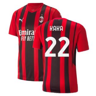 2021-2022 AC Milan Home Shirt (KAKA 22)