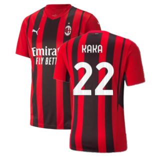 2021-2022 AC Milan Home Shirt (Kids) (KAKA 22)