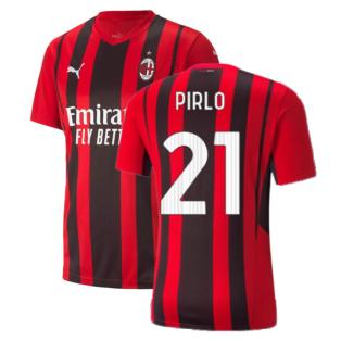 2021-2022 AC Milan Home Shirt (PIRLO 21)