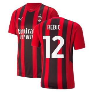 2021-2022 AC Milan Home Shirt (REBIC 12)