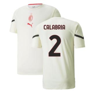 2021-2022 AC Milan Pre-Match Jersey (Afterglow) (CALABRIA 2)