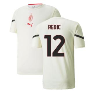 2021-2022 AC Milan Pre-Match Jersey (Afterglow) (REBIC 12)