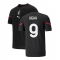 2021-2022 AC Milan Pre-Match Jersey (Black) (WEAH 9)