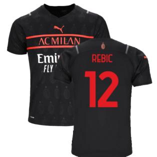 2021-2022 AC Milan Third Shirt (Kids) (REBIC 12)