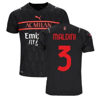 2021-2022 AC Milan Third Shirt (MALDINI 3)