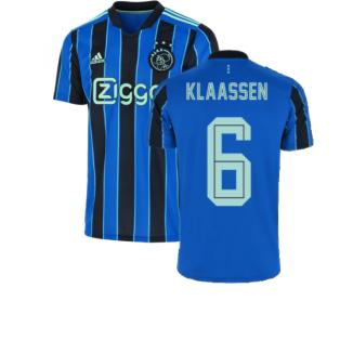 2021-2022 Ajax Away Shirt (Kids) (KLAASSEN 6)