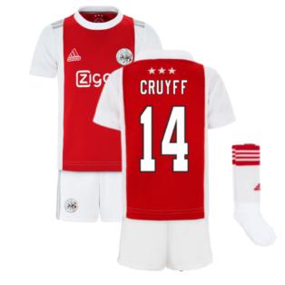 2021-2022 Ajax Home Mini Kit (CRUYFF 14)