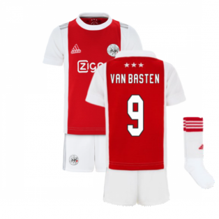 2021-2022 Ajax Home Mini Kit (VAN BASTEN 9)