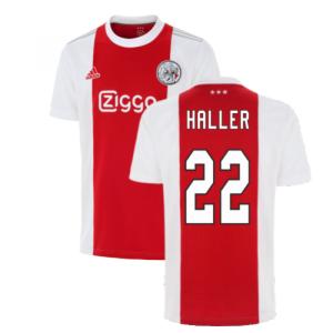 2021-2022 Ajax Home Shirt (Kids) (HALLER 22)