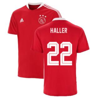 2021-2022 Ajax Training Jersey (Red) (HALLER 22)