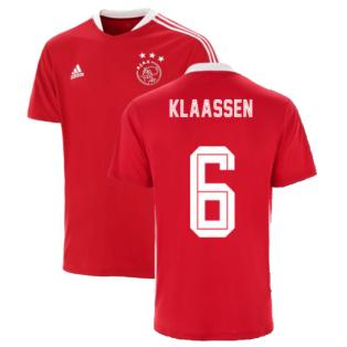 2021-2022 Ajax Training Jersey (Red) (KLAASSEN 6)