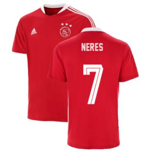 2021-2022 Ajax Training Jersey (Red) (NERES 7)