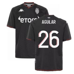 2021-2022 AS Monaco Away Shirt (AGUILAR 26)