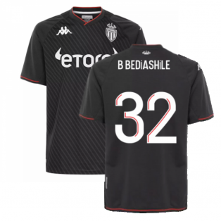 2021-2022 AS Monaco Away Shirt (B BEDIASHILE 32)