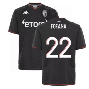 2021-2022 AS Monaco Away Shirt (FOFANA 22)
