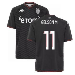 2021-2022 AS Monaco Away Shirt (GELSON M 11)