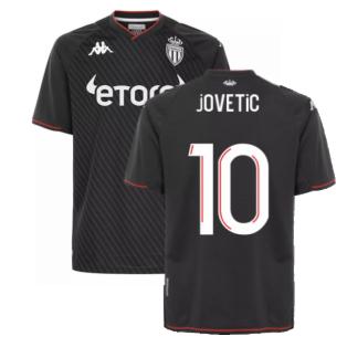 2021-2022 AS Monaco Away Shirt (JOVETIC 10)