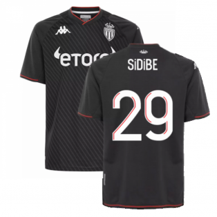 2021-2022 AS Monaco Away Shirt (SIDIBE 29)