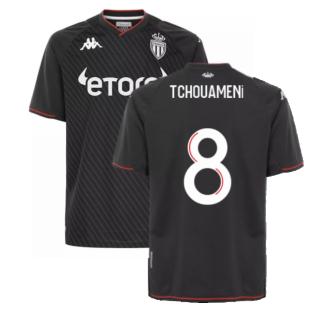 2021-2022 AS Monaco Away Shirt (TCHOUAMENI 8)