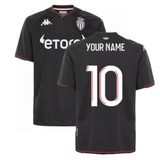 2021-2022 AS Monaco Away Shirt (Your Name)