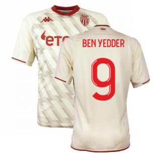 2021-2022 AS Monaco Third Shirt (BEN YEDDER 9)