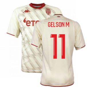 2021-2022 AS Monaco Third Shirt (GELSON M 11)