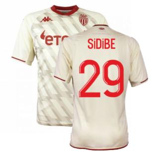 2021-2022 AS Monaco Third Shirt (SIDIBE 29)