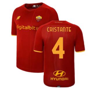 2021-2022 AS Roma Home Shirt (CRISTANTE 4)
