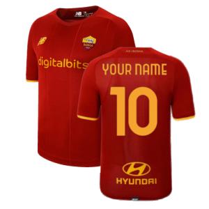 2021-2022 AS Roma Home Shirt