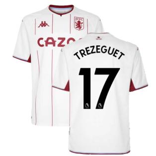 2021-2022 Aston Villa Away Shirt (TREZEGUET 17)