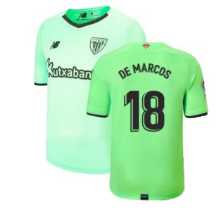 2021-2022 Athletic Bilbao Away Shirt (DE MARCOS 18)