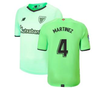 2021-2022 Athletic Bilbao Away Shirt (MARTINEZ 4)