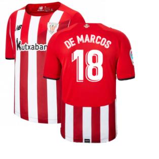 2021-2022 Athletic Bilbao Home Shirt (DE MARCOS 18)