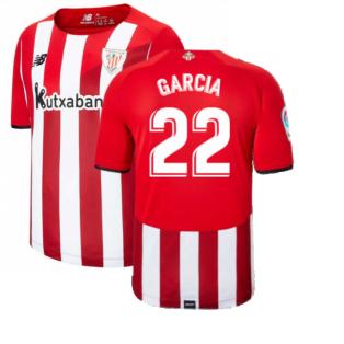 2021-2022 Athletic Bilbao Home Shirt (GARCIA 22)